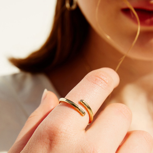 #718 RING [GOLD]