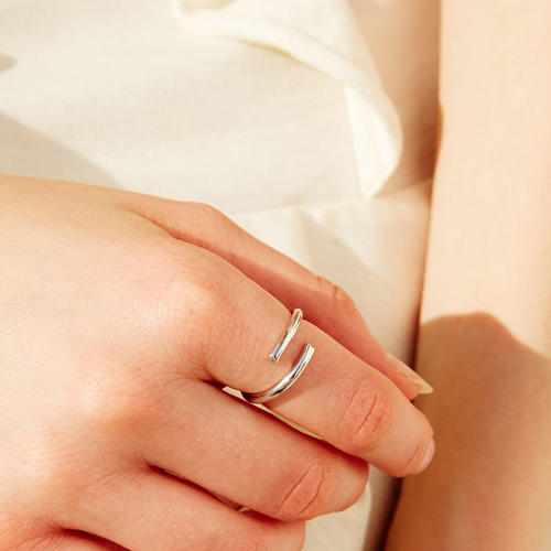 #718 RING [SILVER]