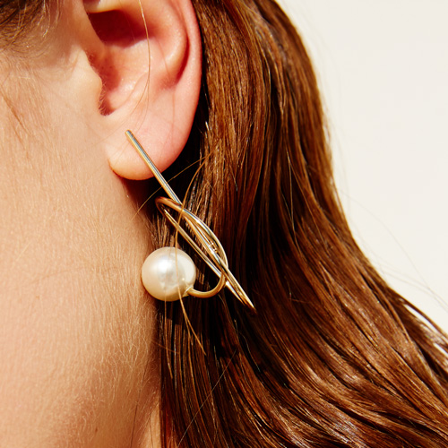 #713 EARRINGS [GOLD]