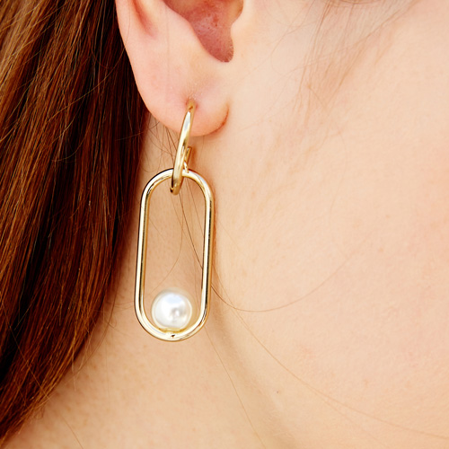 #701 EARRINGS [GOLD]